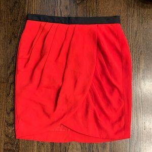 Banana Republic Red Tulip Skirt